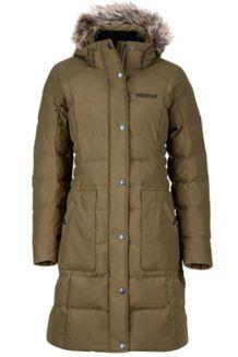 Wm's Clarehall Jacket, Deep Olive, medium