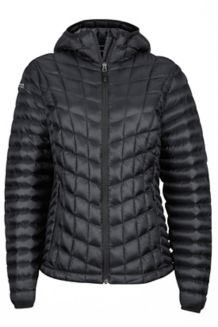 Wm's Marmot Featherless Hoody, Black, medium