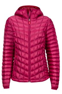 Wm's Marmot Featherless Hoody, Red Dahlia, medium