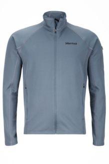 Stretch Fleece Jacket, Steel Onyx, medium