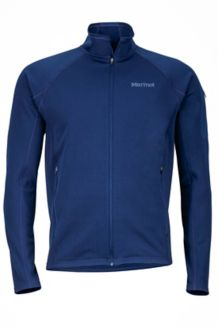 Stretch Fleece Jacket, Arctic Navy, medium