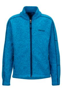Boy's Lassen Fleece, Bahama Blue, medium