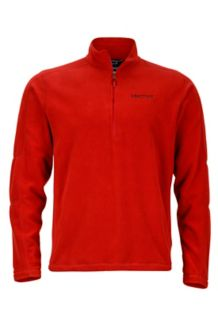 Rocklin 1/2 Zip, Dark Crimson, medium