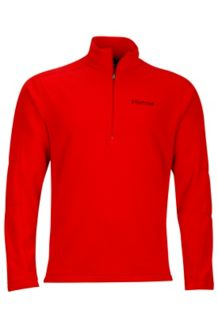Rocklin 1/2 Zip, Team Red/Port, medium