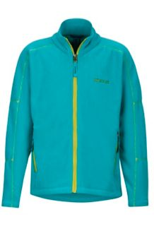Boy's Lassen Fleece, Deep Jade, medium