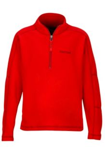 Boy's Rocklin 1/2 Zip, Team Red, medium