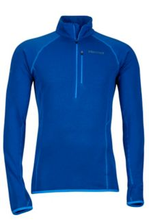 Neothermo 1/2 Zip, Dark Cerulean, medium