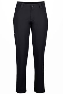 Wm's Scree Pant Long, Black, medium