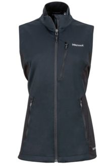 Wm's Leadville Vest, Black, medium