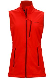Wm's Leadville Vest, Scarlet Red, medium