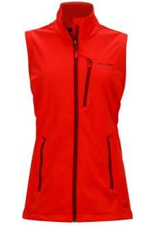 Wm's Leadville Vest, Scarlet Red, medium