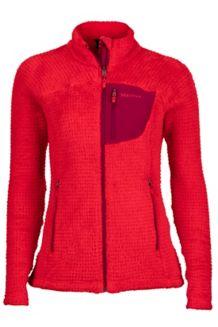 Wm's Thermo Flare Jacket, Tomato/Red Dahlia, medium