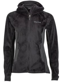Wm's Luster Hoody, Black, medium