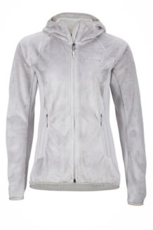 Wm's Luster Hoody, Platinum, medium