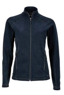 Wm's Rocklin Full Zip Jacket, Black, medium