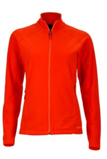 Wm's Rocklin Full Zip Jacket, Poppy, medium