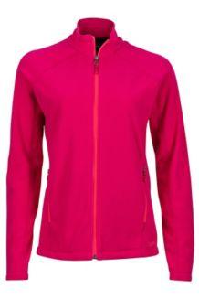 Wm's Rocklin Full Zip Jacket, Sangria, medium