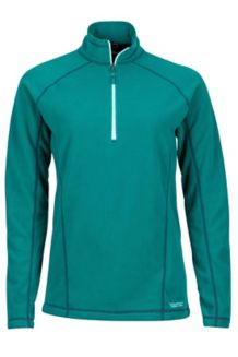 Wm's Rocklin 1/2 Zip, Malachite, medium
