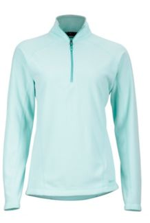 Wm's Rocklin 1/2 Zip, Wintermint, medium