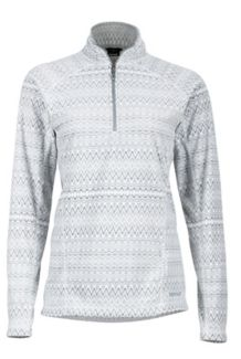 Wm's Rocklin 1/2 Zip, Soft White Alps, medium
