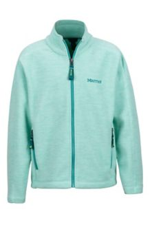 Girl's Lassen Fleece, Clear Sky, medium