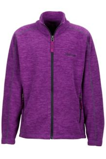 Girl's Lassen Fleece, Mystic Purple, medium