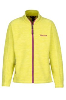 Girl's Lassen Fleece, Sprig, medium