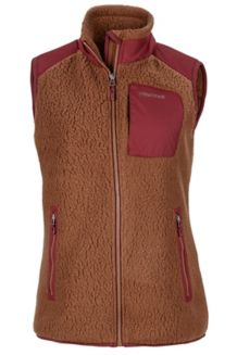 Wm's Wiley Vest, Dark Chestnut/Port Royal, medium