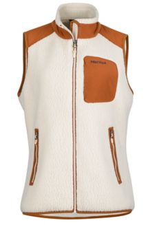 Wm's Wiley Vest, Cream/Terra, medium