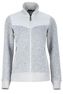 Wm's Tech Sweater, Glacier Grey, medium