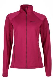 Wm's Stretch Fleece Jacket, Magenta, medium