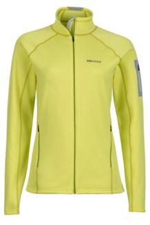 Wm's Stretch Fleece Jacket, Sprig, medium