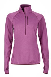 Wm's Neothermo 1/2 Zip, Amethyst, medium