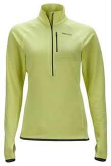 Wm's Neothermo 1/2 Zip, Sunny Lime, medium