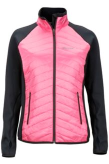 Wm's Variant Jacket, Kinetic Pink/Black, medium