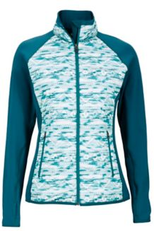 Wm's Caliente Jacket, Deep Teal Ice/Deep Teal, medium
