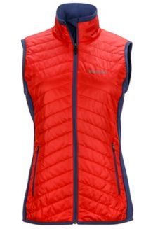 Wm's Variant Vest, Scarlet Red/Monsoon, medium