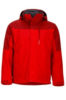 Garrison Component Jacket, Team Red/Brick, medium