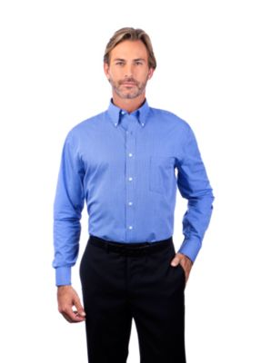 Image for Van Heusen Men's Coolest Comfort Check - Long Sleeve from PVH Corporate Outfitters