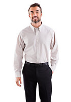Van Heusen Men's Regular Fit Long Sleeve Mini Check