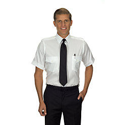 Van Heusen Men's Regular Fit Short Sleeve Non-Iron Aviator