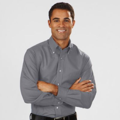 Image for Van Heusen Men's Regular Fit Long Sleeve Oxford from PVH Corporate Outfitters