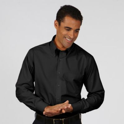 Image for Van Heusen Men's Regular Fit Long Sleeve Silky Poplin from PVH Corporate Outfitters