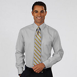 Van Heusen Men's Non Iron Pinpoint Oxford Dress Shirt L/S