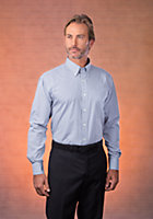Van Heusen Men's Regular Fit Long Sleeve Gingham Check