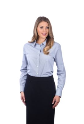 Image for Van Heusen Women's  Regular Fit Long Sleeve Gingham Check from PVH Corporate Outfitters