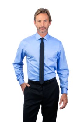 Image for Van Heusen Men's Regular Fit Long Sleeve Flex Collar Twill from PVH Corporate Outfitters