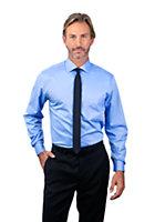 Van Heusen Men's Regular Fit Long Sleeve Flex Collar Twill - Numeric Sized