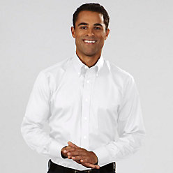 Van Heusen Men's Regular Fit Long Sleeve Twill