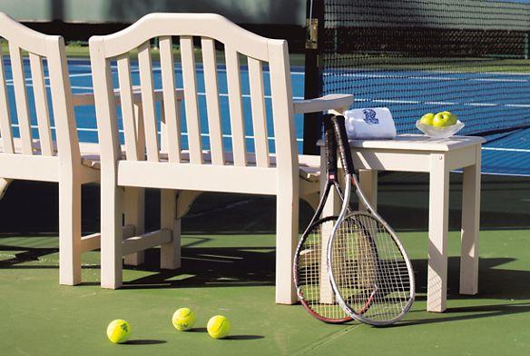 ck棋牌Outdoor tennis court